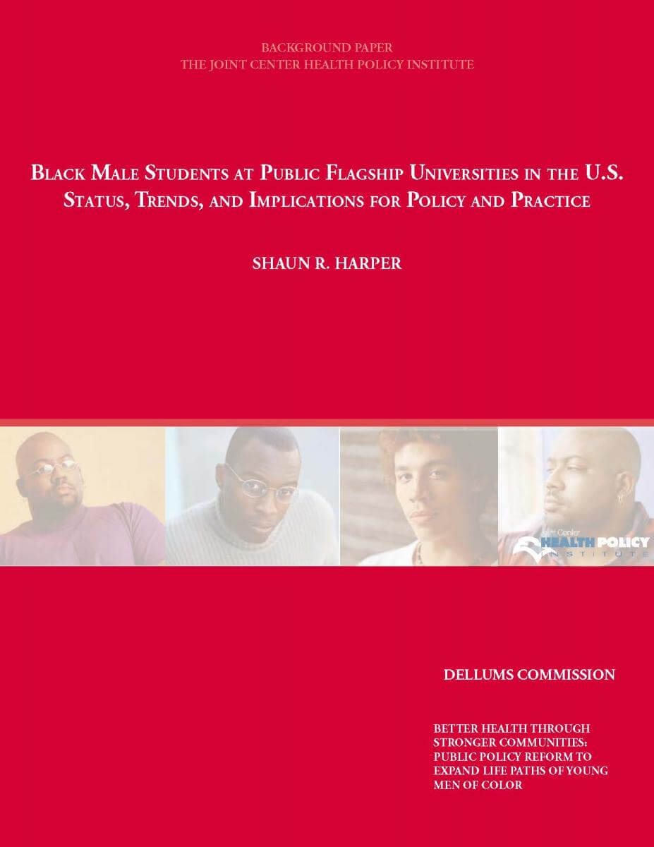 Better Health through Stronger Communities: Public Policy Reform to Expand Life Paths of Young Men of Color