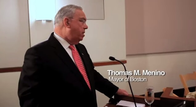 The National Collaborative Mourns the Loss of Boston Mayor Thomas Menino