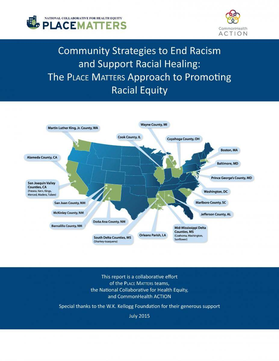 Blueprints to Action: Community Strategies to End Racism and Promote Racial Healing