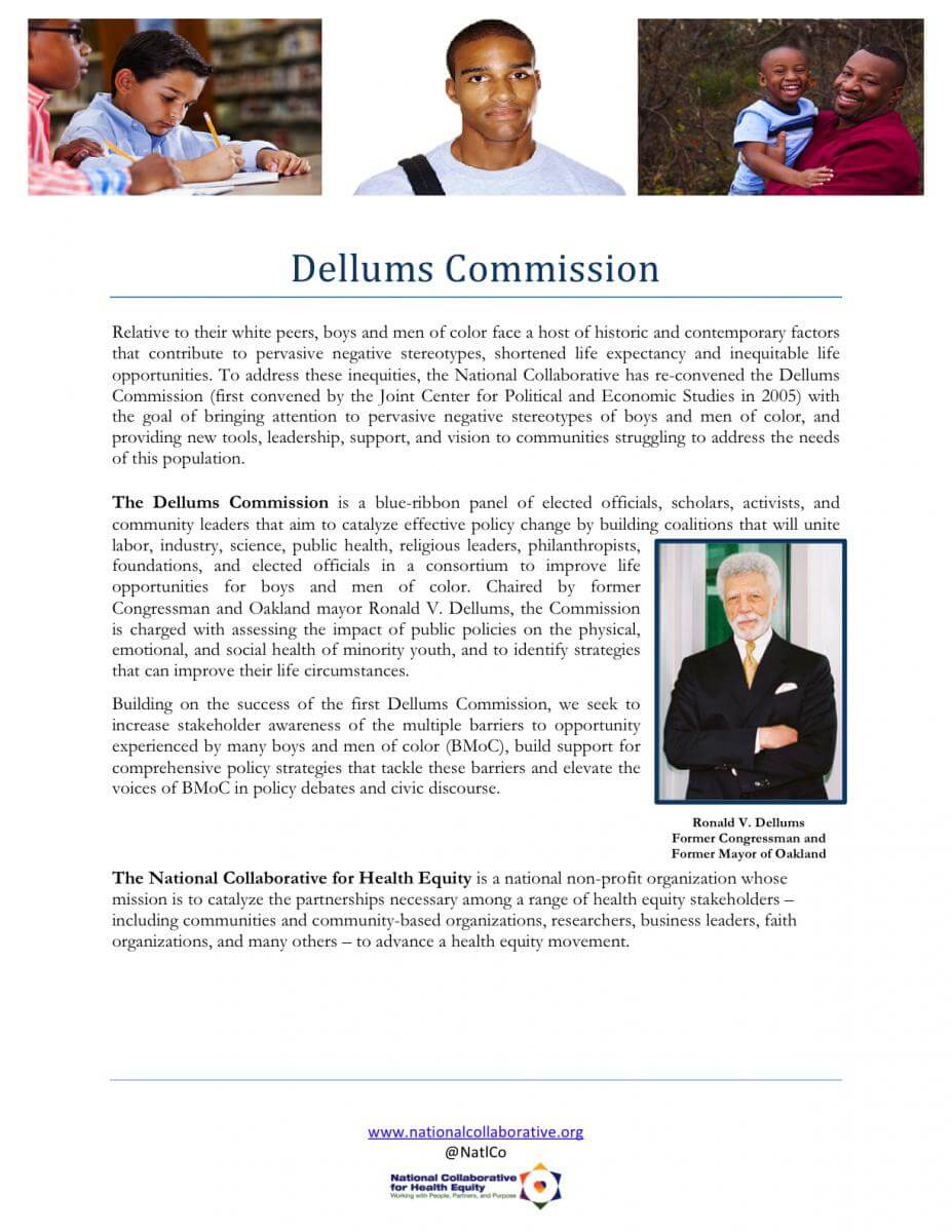 Dellums Commision Fact Sheet