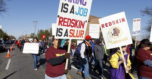 In Minnesota, Thousands of Native Americans Protest Redskins Name