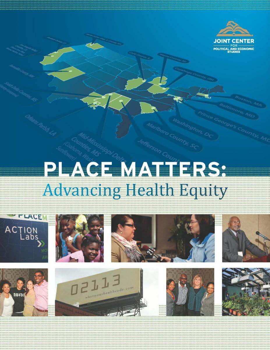 PLACE MATTERS: Advancing Health Equity