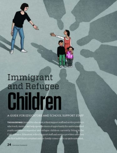 Immigrant and Refugee Children: A Guide for Educators and School Support Staff