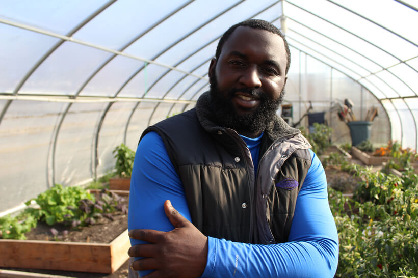 Black Urban Farmer Talks Planting in DC Food Desert