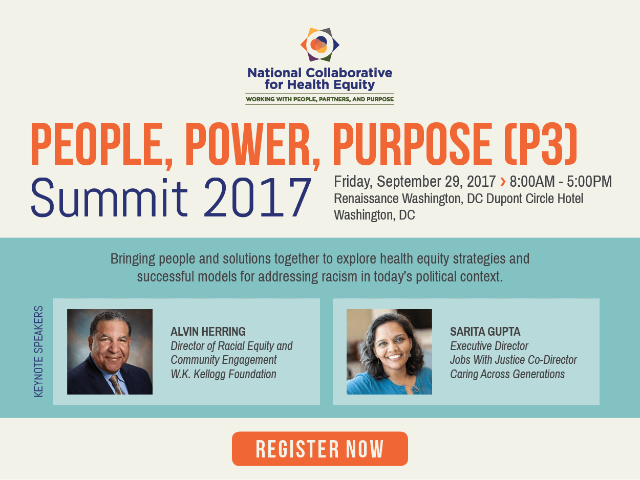 National Collaborative for Health Equity - Working with people, partners, and a purpose
