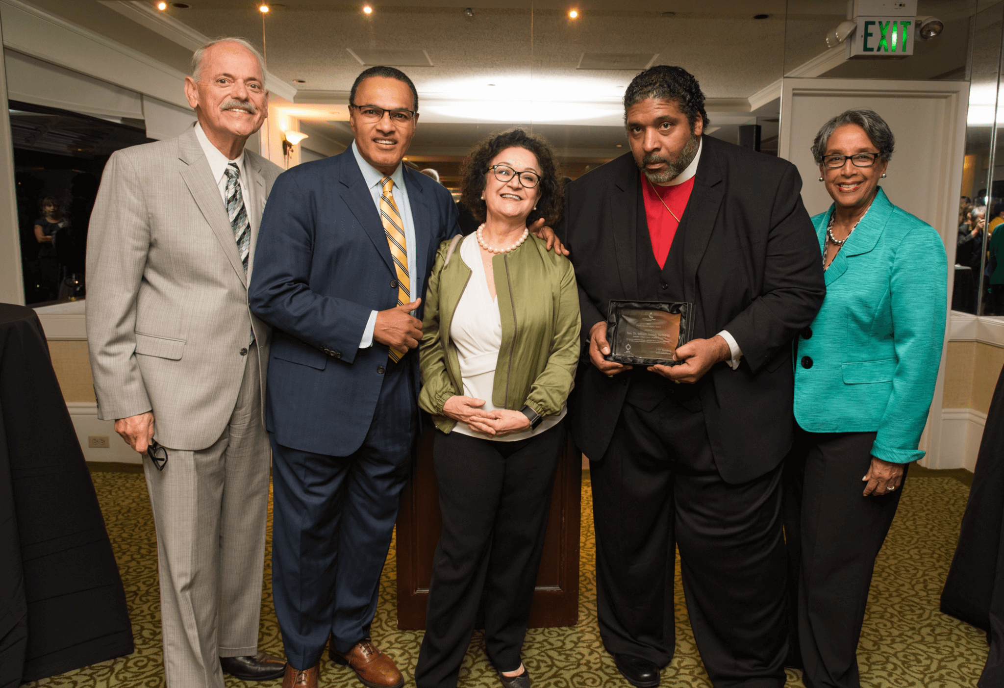 Rev. William Barber Honored by MCF, ABFE and HIP