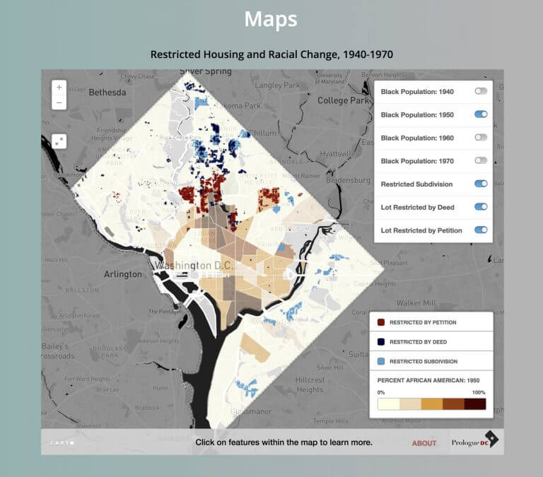 New Website Maps Out History of Housing Segregation in DC