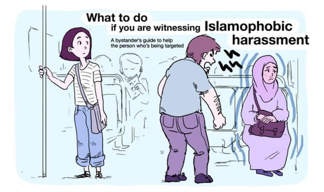 A Guide: What to Do if You See Islamophobia