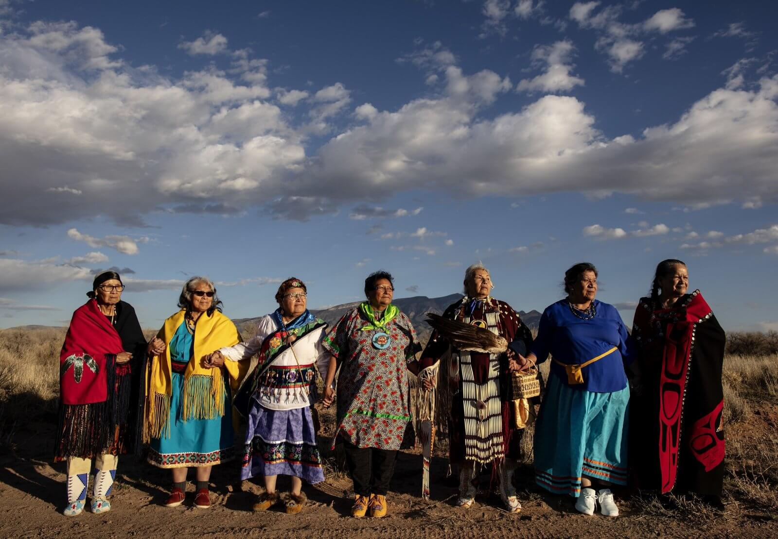 Indigenous Matriarchs Stand Together in Dark Times