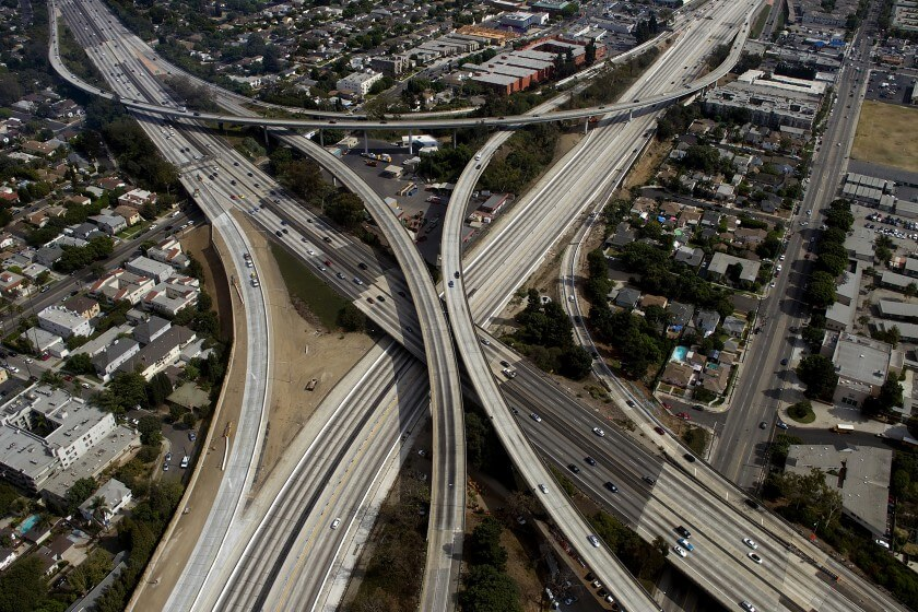 Opinion: Want to tear down insidious monuments to racism and segregation? Bulldoze L.A. freeways