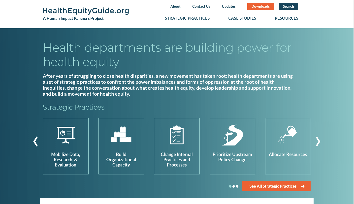 Health Equity Guide – A Human Impact Partners Project