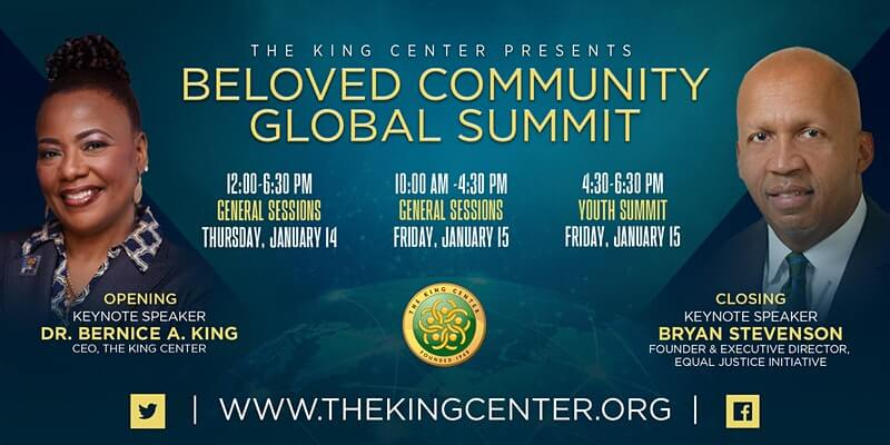 Dr. Christopher Speaks at The King Center's Beloved Community Global Summit