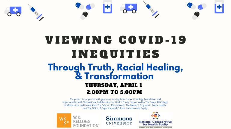 "Dr. Gail Christopher Moderates Simmons University Webinar on ""Viewing COVID-19 through THRT Framework"""